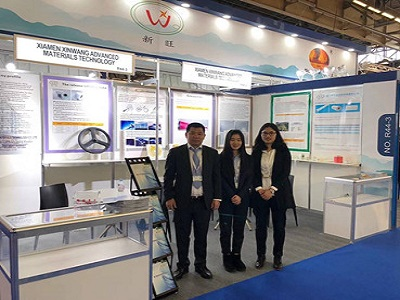 Xinwang attend to JEC fair in France in 2018