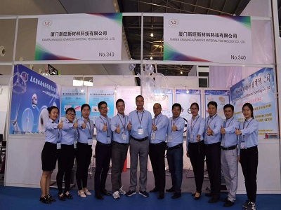 Xinwang attended to China composite expo 2018